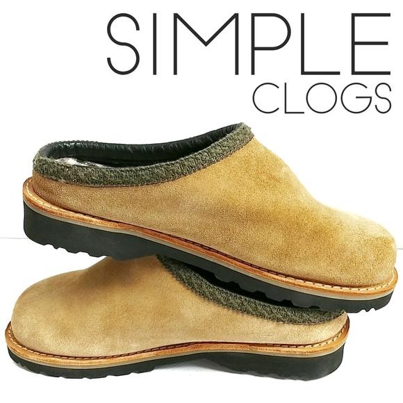 Simple Other - Simple Suede Bravado Clog Slip On 6.5 Unisex
